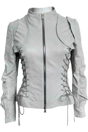 JITROIS \N Leather Leather Jacket for Women