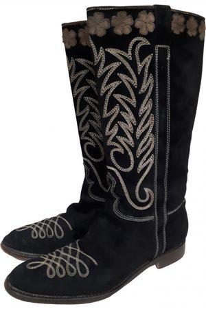 Philosophy di Alberta Ferretti \N Suede Boots for Women