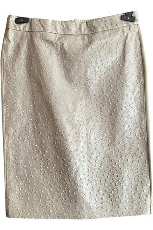 Max Mara \N Leather Skirt for Women