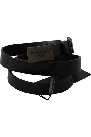 Dolce & Gabbana \N Leather Belt for Men