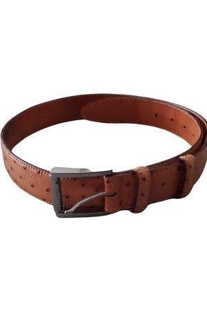 Zanellato \N Leather Belt for Men