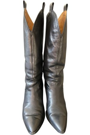 UTERQUE \N Leather Boots for Women