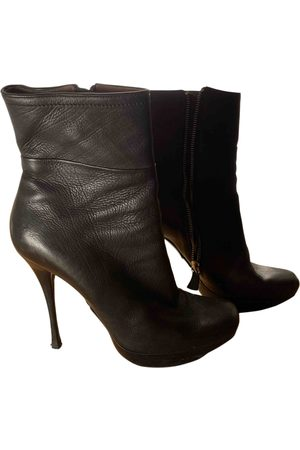 Lanvin Women Ankle Boots - \N Leather Ankle boots for Women