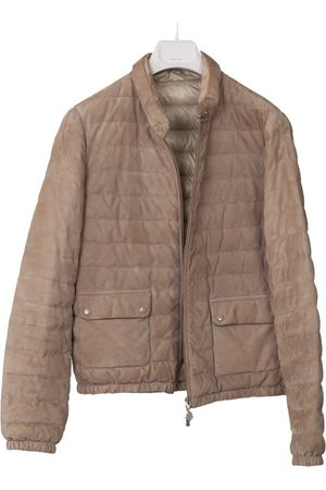 Moncler Suede Leather Jackets