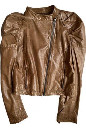 Miu Miu Women Leather Jackets - Leather Leather Jackets