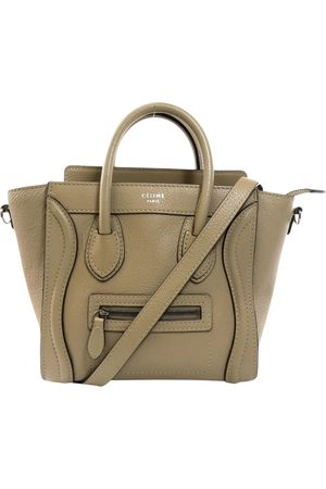 Céline Nano Luggage Leather Handbag for Women