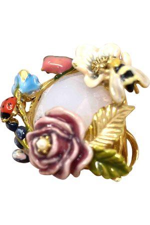 Les Néréides Gold plated Rings