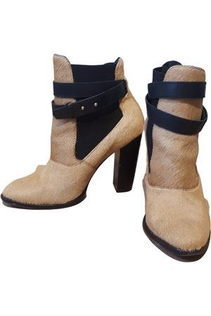 Elizabeth and James \N Pony-style calfskin Ankle boots for Women