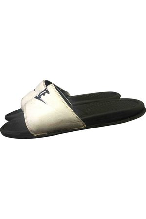 Nike \N Leather Sandals for Men