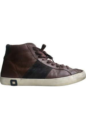 D.A.T.E. \N Leather Trainers for Men