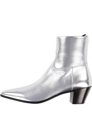 Céline Men Boots - Jacno Leather Boots for Men