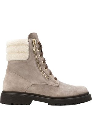 Moncler \N Suede Ankle boots for Women
