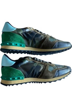 VALENTINO GARAVANI Rockrunner Leather Trainers for Men