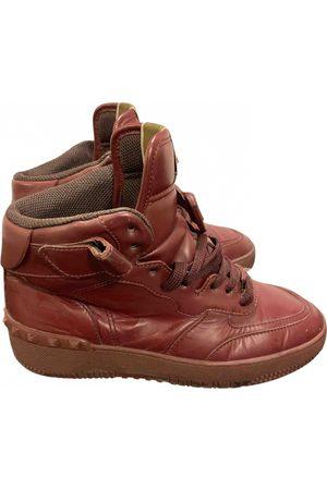 VALENTINO GARAVANI Men Sneakers - Rockstud Leather Trainers for Men