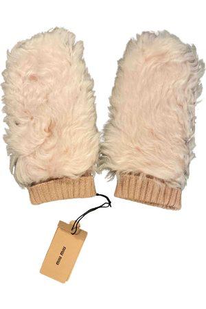 Miu Miu \N Cashmere Gloves for Women