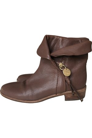 See by Chloé Women Ankle Boots - \N Leather Ankle boots for Women
