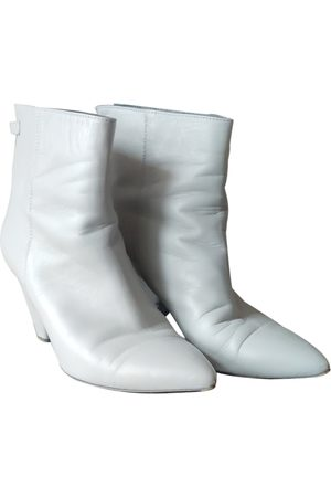 Suoli \N Leather Ankle boots for Women