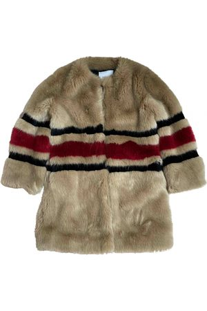 AINEA \N Faux fur Coat for Women