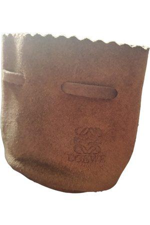 Loewe VINTAGE \N Suede Clutch Bag for Women
