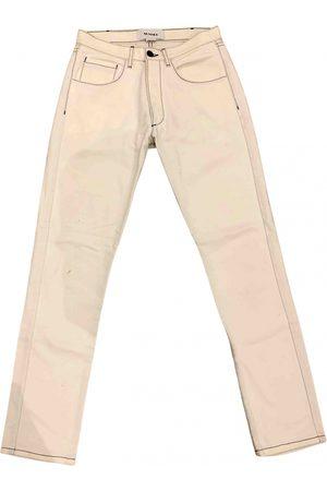 SUNNEI \N Denim - Jeans Trousers for Men