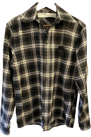 OFF-WHITE \N Cotton Shirts for Men
