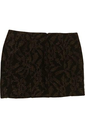 Maje Glitter mini skirt
