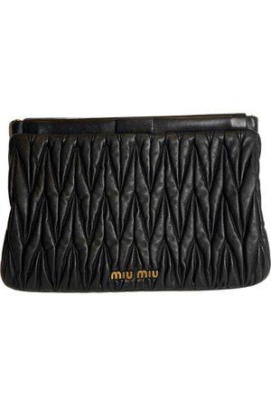 Miu Miu Women Clutches - Matelassé Leather Clutch Bag for Women