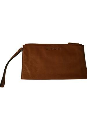 Michael Kors Jet Set Leather Clutch Bag for Women