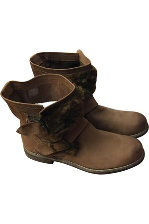 Italia Independent \N Leather Ankle boots for Women
