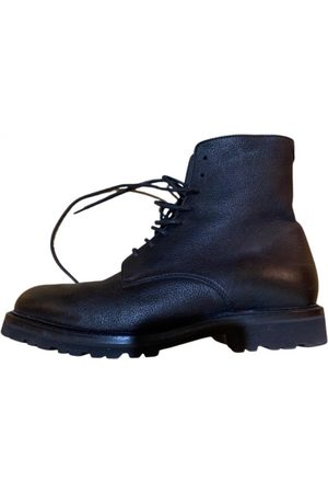 Brunello Cucinelli \N Leather Boots for Men