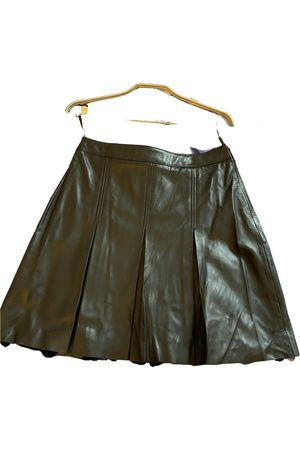 Maje Women Leather Skirts - \N Leather Skirt for Women