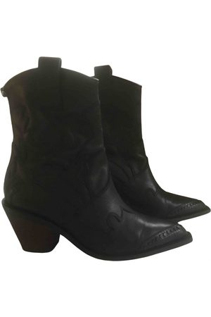 Zadig & Voltaire \N Leather Ankle boots for Women