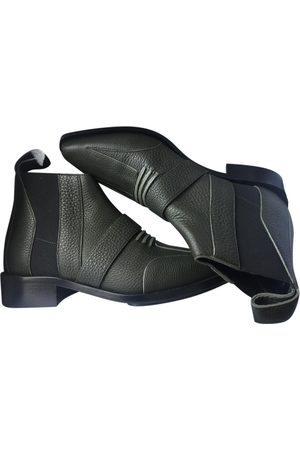 Paco rabanne \N Leather Ankle boots for Women
