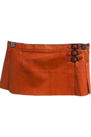 CHROME HEARTS Women Leather Skirts - \N Leather Skirt for Women