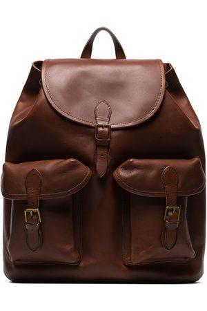 Polo Ralph Lauren Heritage leather backpack