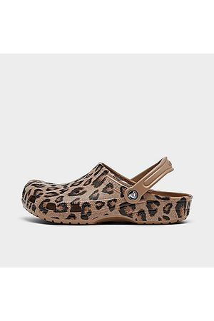 Crocs Classic Clog Shoes in /Animal Print/Leopard Size 5.0