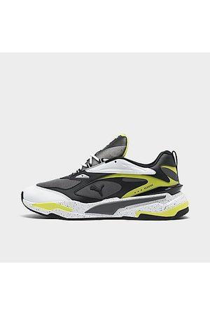 PUMA Men's RS-Fast Nano Casual Shoes in Grey/Castlerock Size 7.5 Leather/Nylon