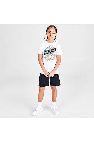 Nike Girls Sports T-shirts - Big Kids' Sportswear JDI T-Shirt in / Size Small 100% Cotton/Polyester/Knit