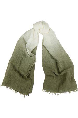 Eileen Fisher Dégradé linen-blend gauze scarf