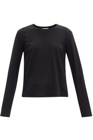 The Row Women Long Sleeve - Sherman Cotton-jersey Long-sleeved T-shirt - Womens