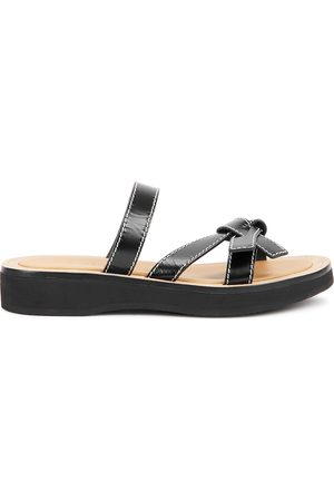 Loewe Women Sandals - Gate leather sandals