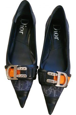 Dior Women Ballerinas - VINTAGE \N Cloth Ballet flats for Women
