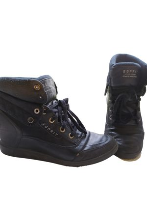 Esprit Leather Ankle Boots