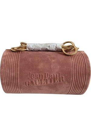 Jean Paul Gaultier Women Clutches - \N Suede Clutch Bag for Women