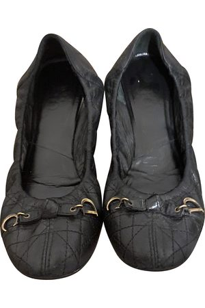Dior Women Ballerinas - \N Leather Ballet flats for Women