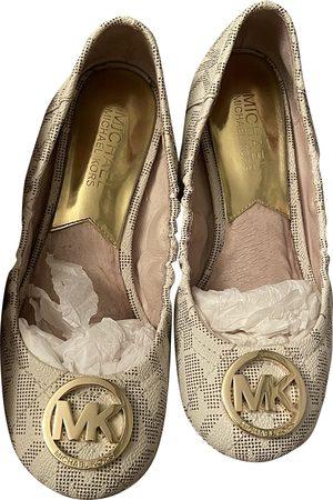 Michael Kors Women Ballerinas - \N Leather Ballet flats for Women