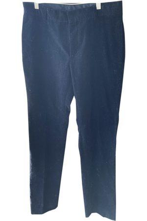 KRIS VAN ASSCHE \N Cotton Trousers for Men