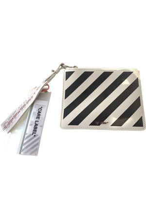 OFF-WHITE \N Leather Clutch Bag for Women