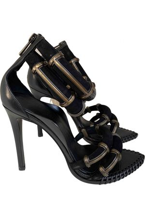 Anthony Vaccarello \N Suede Sandals for Women