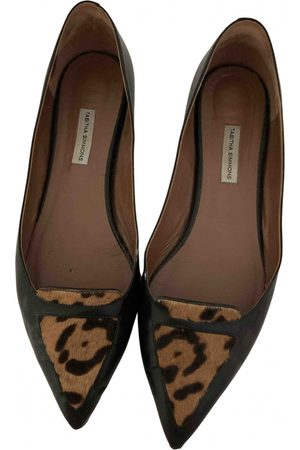 Tabitha Simmons \N Leather Ballet flats for Women